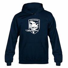 Fox Hound Metal Gear inspired Emblem Playstation Xbox Hooded Sweater Hoody