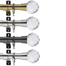 Swish Design Studio Prisma 28mm Complete Metal Curtain Pole Set