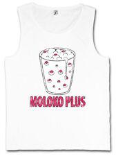 Moloko PLUS Tank Top Clockwork movimento dell'orologio latte Alex Alexander Orange de LARGE Milk