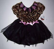 NWT CHILDREN'S PLACE LEOPARD KITTY PRINCESS COSTUME 2-3 TCP CAT HALLOWEEN DRESS