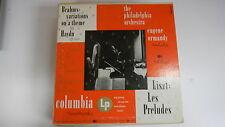 """Brahms Haydn & Liszt 10"""" Vinyl Columbia ML 2066 0818E"""
