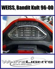 Feu arrière LED/Feu arrière blanc/transparent Suzuki GSF 600/1200 Bandit Culte