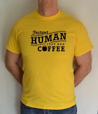 Just AGGIUNGI caffè, divertente, T SHIRT