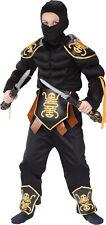 Ninja Warrior Muscle Child Costume Funworld 8700 Leather Look Boys Halloween