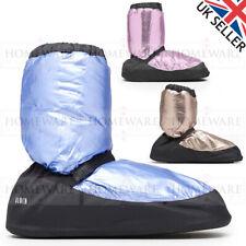 BLOCH WARM UP DANCE BOOTS LADIES MEN METALLIC BALLET BOOTIES UK2 - UK9 IM009MT
