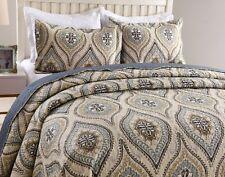 3Pc Quilt Bedspread Sets Bedding Coverlet Bedroom Floral Queen King Size, Joniy