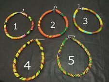 African Fabric Ankara Kente Choker necklace Neck Piece
