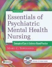 Essentials of Psychiatric/ Mental Health Nursing