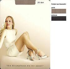 WARME TAGE  Strumpfhose, transparent - 20den, div.Fb.+Gr.