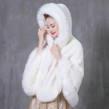 Coat Hooded Cape Bolero Women's Outwear Cloak Winter Wrap Cardigan Shawl Fashion