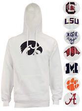 Outerstuff NCAA Men's FLC Hood Team Logo Hoodie, Team Variation