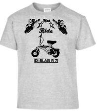 T-Shirt,Di Blasi R7,Pinup,Motorrad,Bike,Oldtimer,Youngtimer