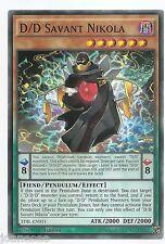 D/D Savant Nikola TDIL-EN011 Yu-Gi-Oh Card 1st Edition English New