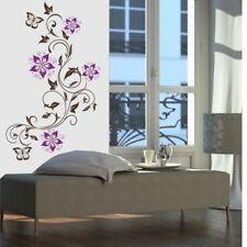 WANDTATTOO - Ranke Alina Blüten Blumen Wandsticker Wandaufkleber