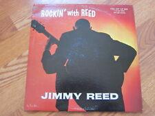 JIMMY REED Rockin with Reed VJ lp mono black label rainbow border great shape