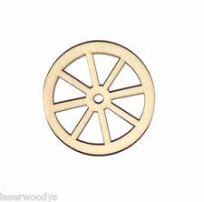 Wagon Wheel Unfinished Wood Shape Cut Out Ww162 Laser Crafts Lindahl Woodcrafts