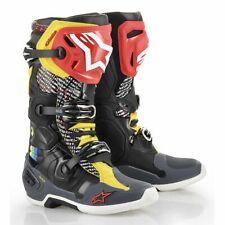 Alpinestars 2019 Cactus Tech 10 Offroad Motocross Supercross Boots - Rainbow