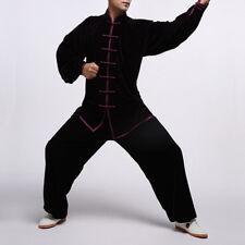 Costume unisexe de velours au stlye chinois pour Tai Chi et loisirs #111