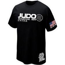 T-Shirt USA JUDO - NIPPON SPORT COMBAT JAPAN -