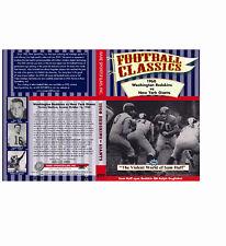 1960 Redskins vs Giants at NY (oldest NFL Kine) & The Violent World of Sam Huff!