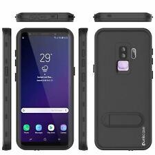 Galaxy S9 Plus Waterproof Case Punkcase KickStud Series Armor Cover w/ Kickstand