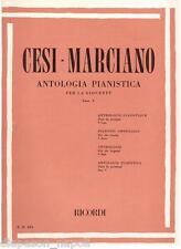 Cesi - Marciano: Antologia Pianistica Per la Gioventù, Fascicolo 5° - Ricordi