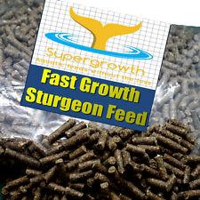 Supergrowth sturgeon pellets fast growth extruded sterlet feed aquatic pond food