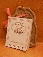 Brown Bag Cookie Art 1986 Angel Figure Recipe Book Hill Design