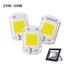 20W 30W 50W LED Floodlight COB Chip 220V Input Integrated Smart IC Driver Bulb