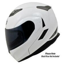 MT Helmets Flux SV Flip Front Motorcycle Helmet - Solid Gloss White