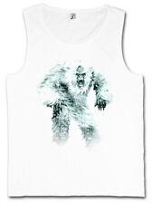 YETI I TANK TOP VEST Monster Bigfoot Creature Ape Himalaya Big Foot Sabretooth