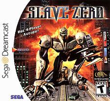Slave Zero Sega Dreamcast DC Game Rare LN Rare Robot A+