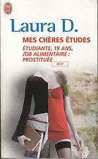 """Livres de Poche """" Récit """" Mes Chères Etudes """" Laura D.  ( No  104  )"""