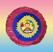 Curious George Monkey Pinata Piñata  games pull string hit optional pinata stick