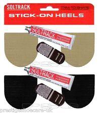 Soltrack hágalo usted mismo palo en tacones & Pegamento de goma hágalo usted mismo Kit de reparación Anti Slip acanalado agarre