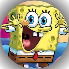 Tortenaufleger Geburtstag Tortenbild Fondant Oblate Spongebob L25