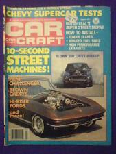 CAR CRAFT - BLOWN 350 CHEVY - Aug 1977 vol 25 # 8