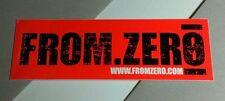 From Zero .Com From.Zero 0 My So- Called Life Streetwise Orange Case Sticker