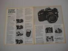 advertising Pubblicità 1978 CANON A-1