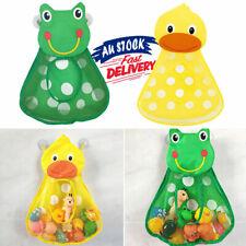 2 Suction Storage Net Organizer Bath Toy Bag Shape Bathroom Baby Animal