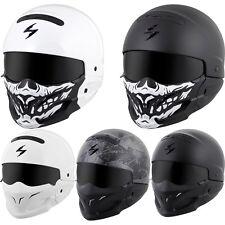 Scorpion Covert 3-in-1 Convertible DOT Motorcycle Helmet BRAND NEW IN BOX
