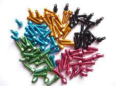 Eloxierte Aluminium Schrauben M5x15 mm, Leichtbau Alu Schrauben 1 Gramm Schraube