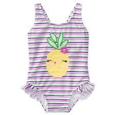 NWT Gymboree Pineapple Swimsuit 1 pc UPF 50+ Toddler Girls