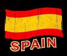 SPANISH PATRIOTIC FLAG OF SPAIN T-SHIRT XT93