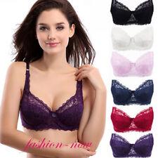 Ladies Sexy Lace Bralette Brassiere Underwired Support Bra Underwear Sz 32 34-44