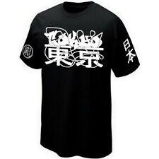 T-SHIRT TOKYO GRAFFITI-ART JAPAN - Camiseta Serigrafía