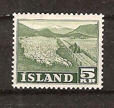 Iceland # 268 Mlh Flock Of Sheep