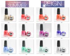 China Glaze Nail Polish Color Lacquer SUMMER REIGN 1512 - 1524 U Pick .5oz/14mL
