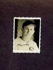 1935-1937 George Burke Photo Stamp BILLY WEBB Chicago White Sox