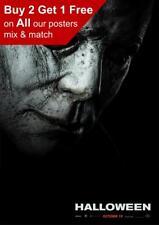 Halloween 2018 Teaser Poster A5 A4 A3 A2 A1